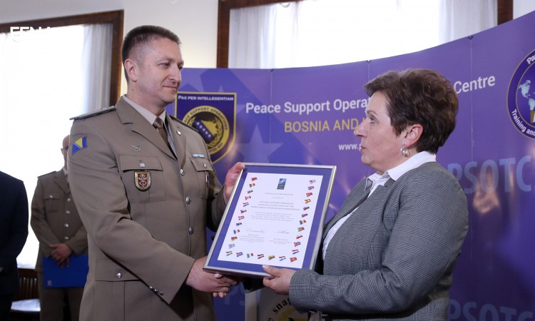 PSOTC receives recognition from NATO for the implementation of 'Integrity Building' program