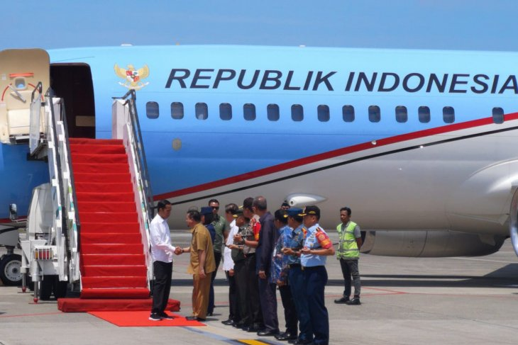 Jokowi visits Kalimantan for prospective location of new capital city