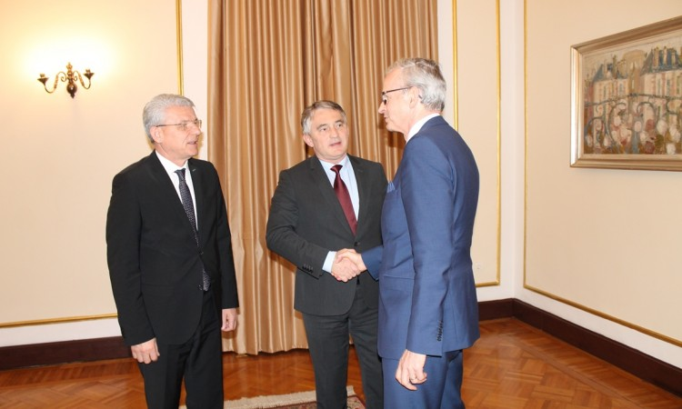 Komšić and Džaferović meet with Danielsson – Support to BiH on its European path
