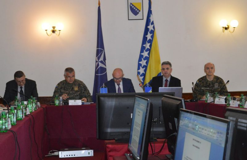 Kosirnik: Progress made in implementation of BiH-NATO Partnership Goals