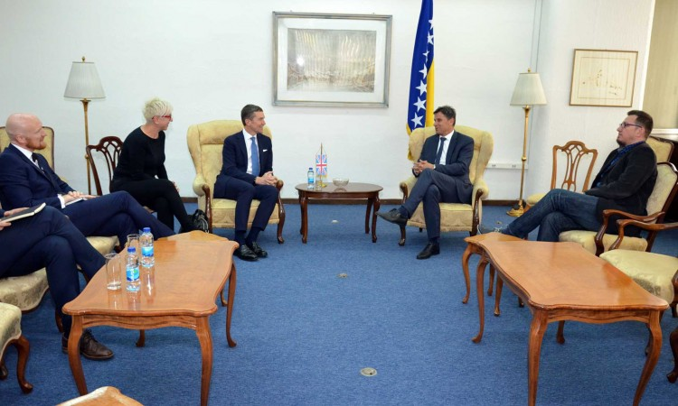 Novalić – Mitchell: BiH and UK need to expand their economic cooperation