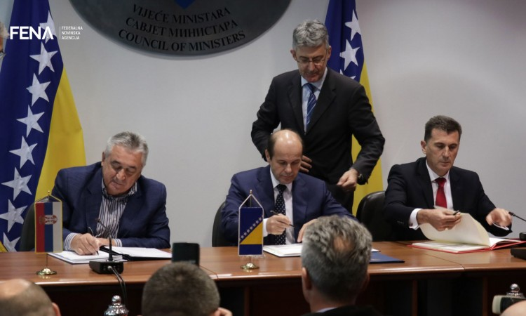 BiH, Montenegro and Serbia sign Protocol on establishment of tri-border area