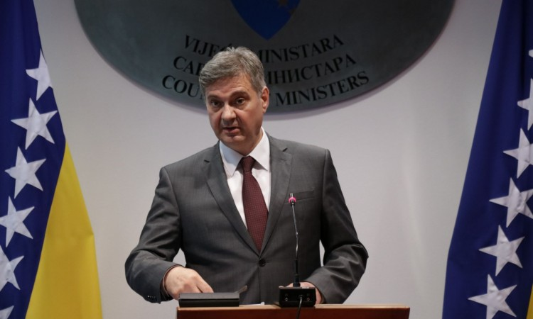 Zvizdić: European Commission's Opinion calls for the respect of the rule of law in BiH