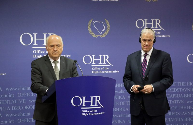 PIC Steering Board calls to formation of government on all levels in BiH