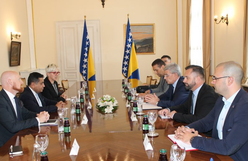 Ahmad-Džaferović: UK will continue nurturing good bilateral relations with BiH