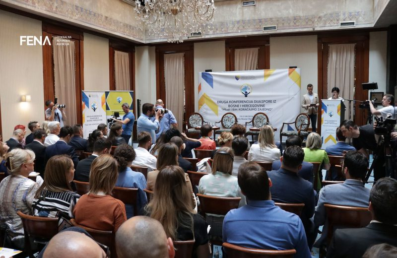 Focus of conference of BiH diaspora on cooperation of youth with home country