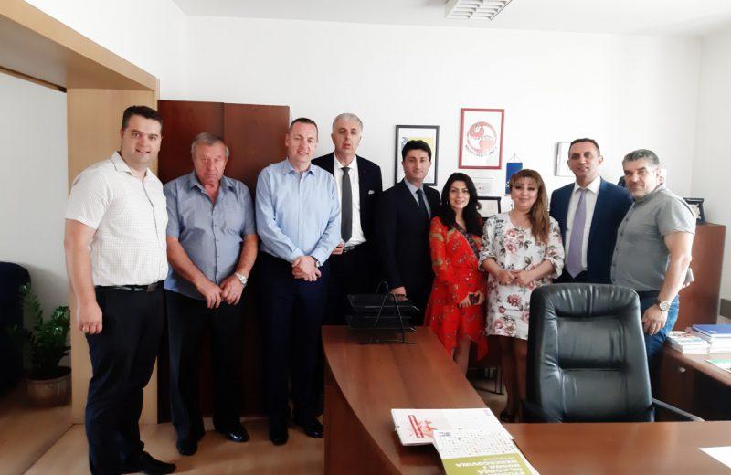 Association 'Bridges of Friendship' and NGOs from Azerbaijan visit FITU BiH