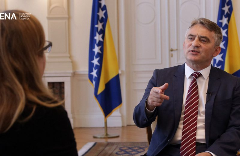 Komšić: NATO is psychologically more necessary, it'll dispel fear of conflict