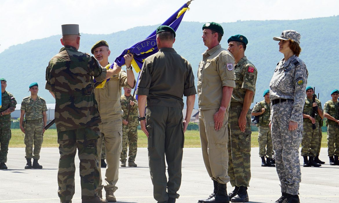 Major General Trischak takes over duty of EUFOR Commander - FENA NEWS