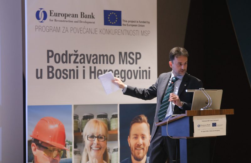 EBRD and EU support small businesses in Bosnia and Herzegovina