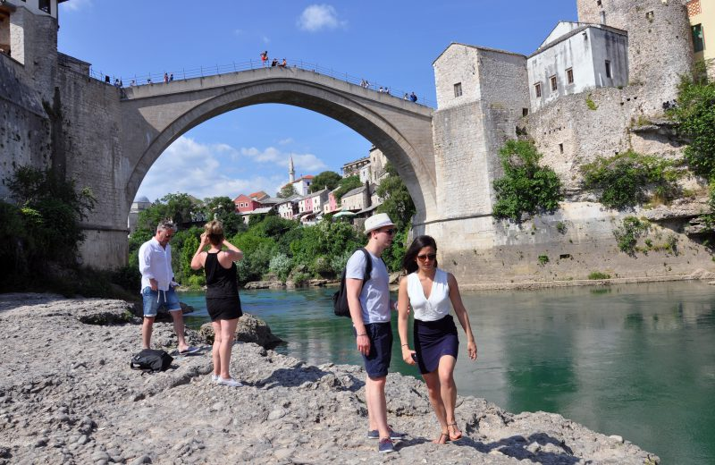 In August 42.000 tourists in FBiH, 55.5 percent of foreign guests from Serbia