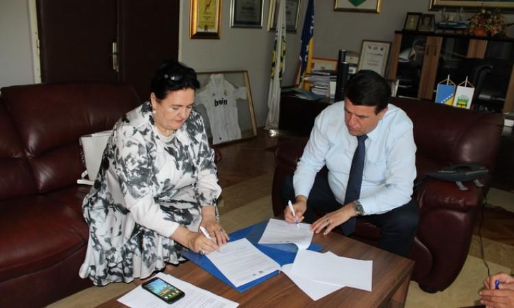 City of Goražde and Union for Sustainable Return sign Memorandum of Cooperation