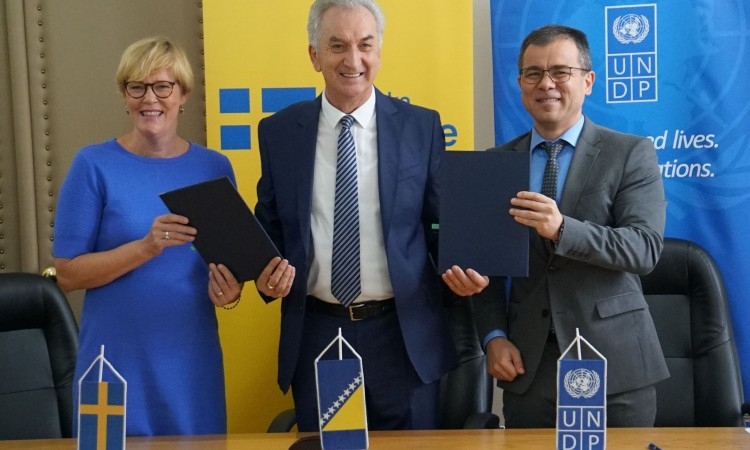 Agreement on energy management system in BiH signed today in Sarajevo