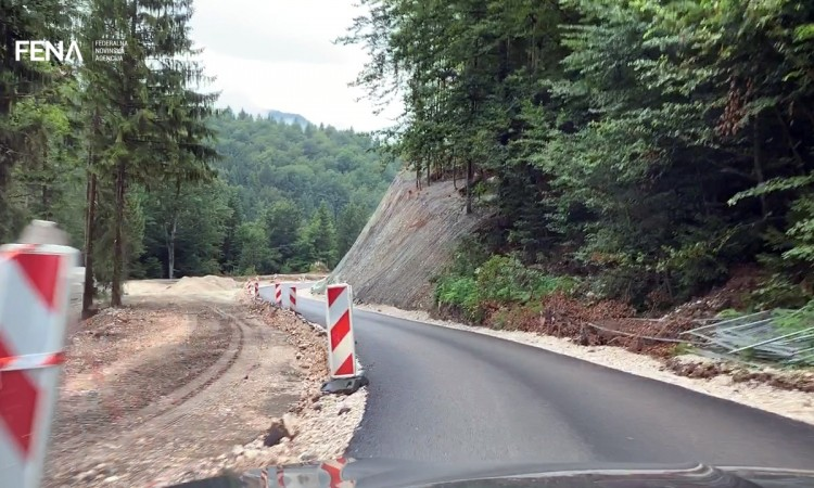 Karaula mountain pass reconstruction to be completed by end of September