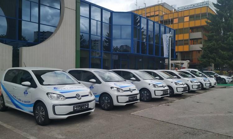 'Elektroprivreda BiH' presents six new electric vehicles and charging stations