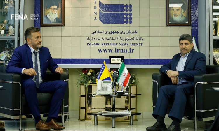Huremović signs cooperation agreement between FENA and Iranian news agency IRNA