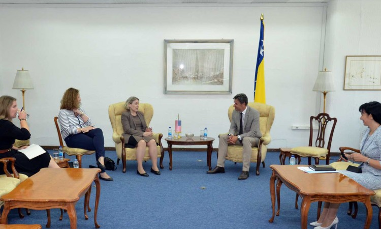 Novalić – Germain: It is important for BiH to continue on its path towards EU and NATO