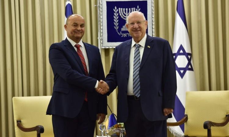 BiH Ambassador to Israel presents credentials to President Rivlin