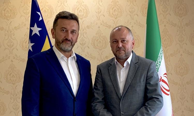 Huremović visits Embassy of Bosnia and Herzegovina in Iran