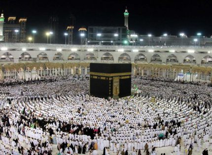 41,000,000 cubic meters of water were pumped in Makkah