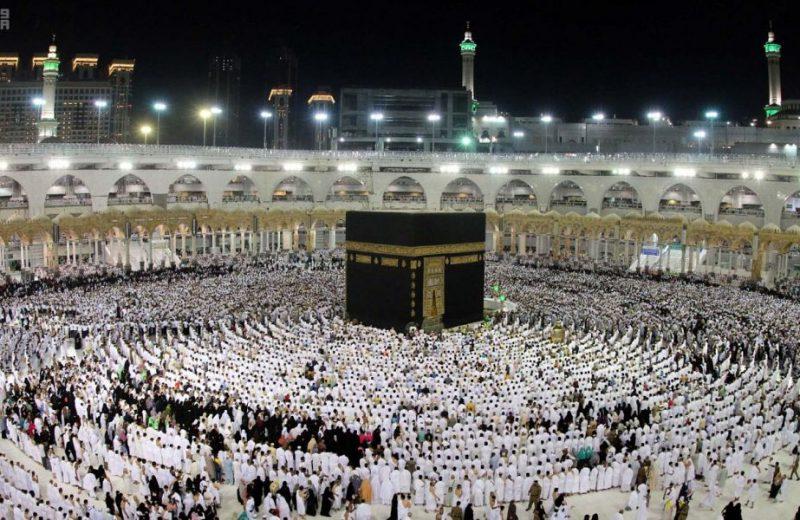 41,000,000 cubic meters of water were pumped in Makkah
