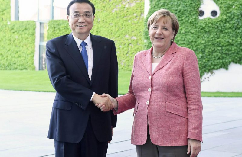 Chinese premier, German chancellor hold phone talks on ties