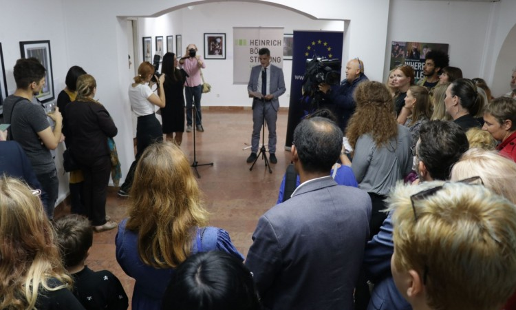 """Where Love Is Illegal"" exhibition opened to coincide with Pride March"