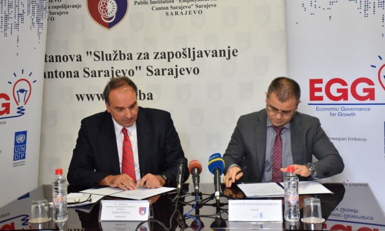 SC Employment Service and UNDP sign Memorandum of Cooperation