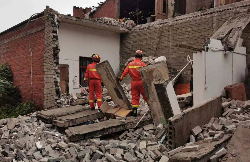 1 dead, 63 injured in Sichuan quake