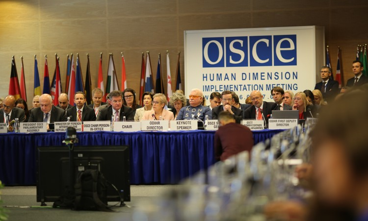 OSCE marks anniversary of peaceful revolutions of 1989