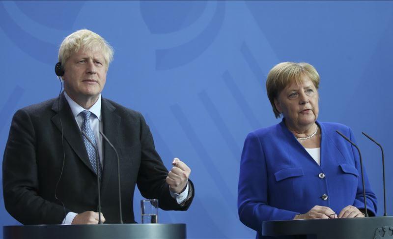 Premier Boris Johnson and Chancellor Angela Merkel also discuss future of Brexit