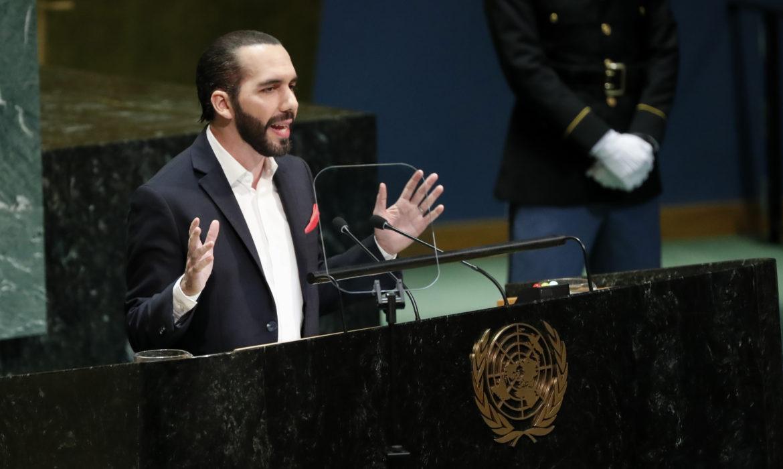 El Salvador's president calls for change in format of UN ...