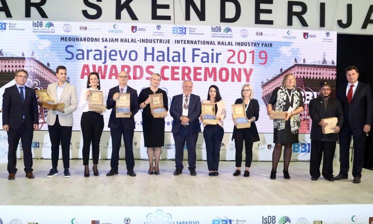 Sarajevo Halal Fair awards individuals and companies from BiH, Malaysia, Croatia