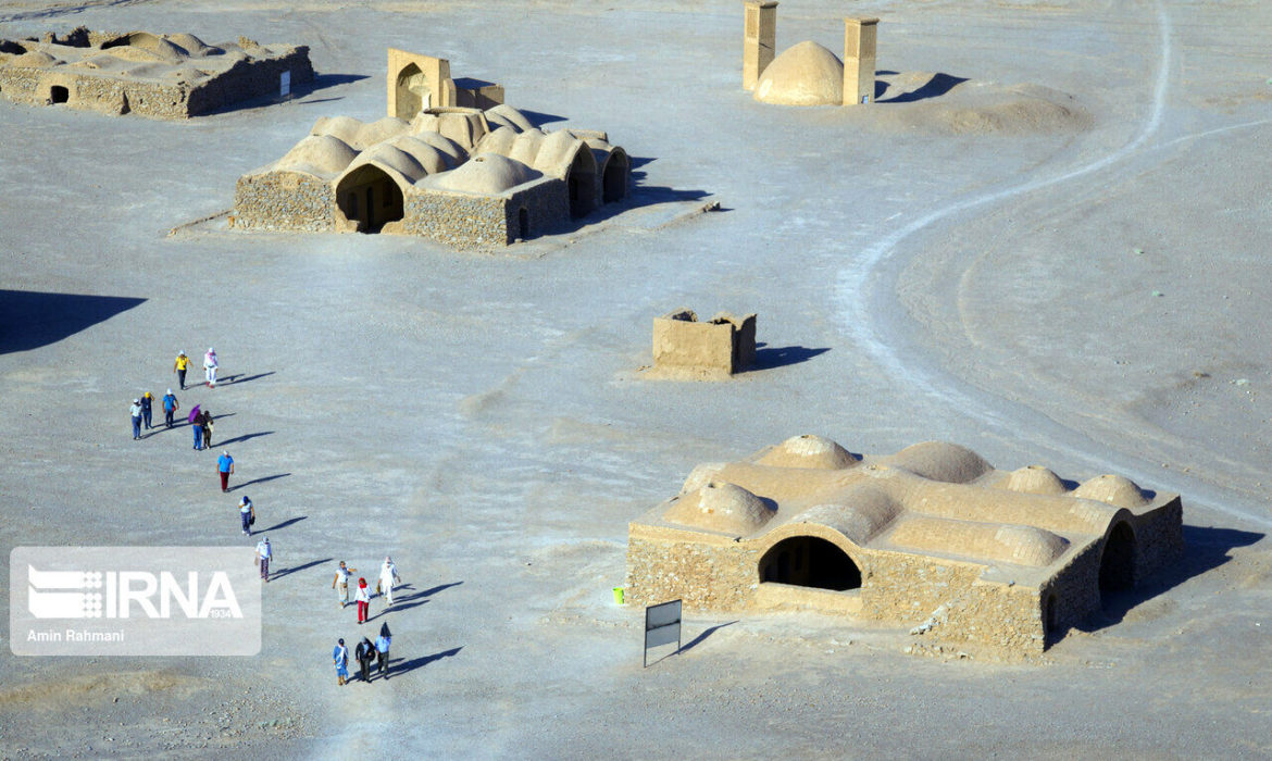 Zoroastrian Towers of Silence in Iran's Yazd province