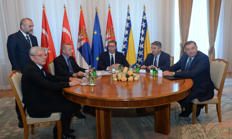 Trilateral meeting message: BiH, Serbia and Turkey committed to peace