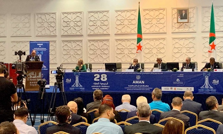 Annual Assembly of Mediterranean News Agencies in Algeria