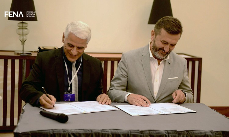 FENA signs cooperation agreements with news agencies from Cyprus and Algeria