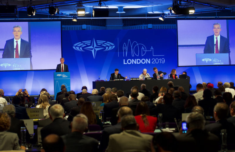 Secretary General addresses the NATO Parliamentary Assembly in London