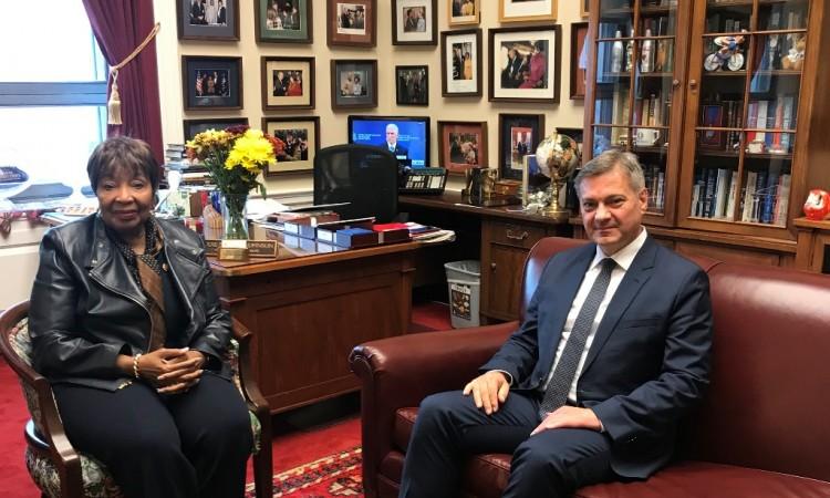 Chairman Zvizdić meets with US Congresswomen and Senator