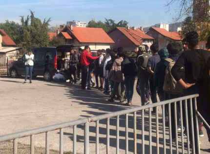 More and more migrants are arriving in Tuzla every day