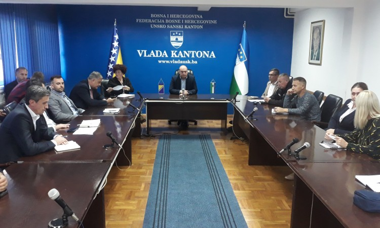 USC Civil Protection Administration to provide water for migrants in Vučjak