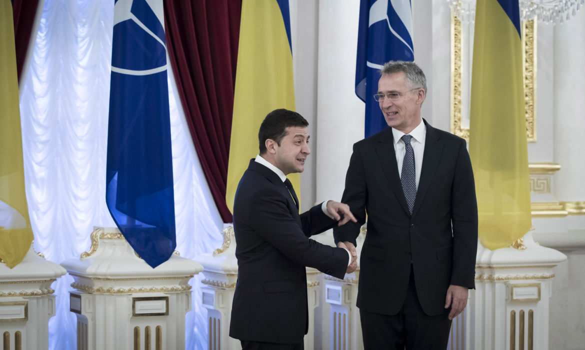 Stoltenberg called on Russia to end its support for the militants in eastern Ukraine