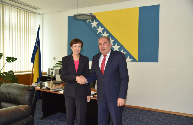 Germany's long-standing role in strengthening BiH's security sector capacities