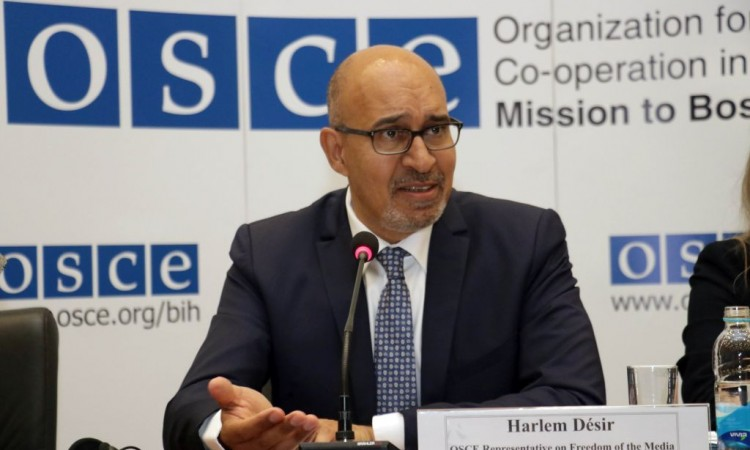 Désir: Around 400 journalists have been killed in OSCE region in past 25 years