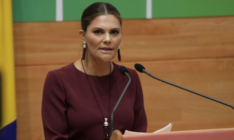 Crown Princess Victoria: Climate change and air pollution are concrete problems
