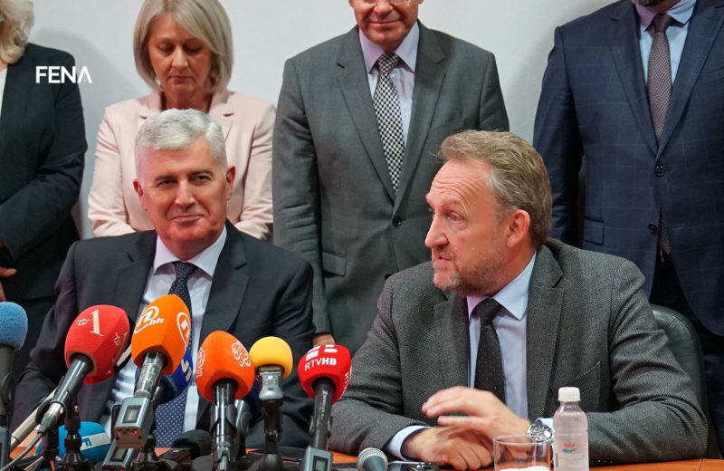 Čović – Izetbegović: No agreement on government formation
