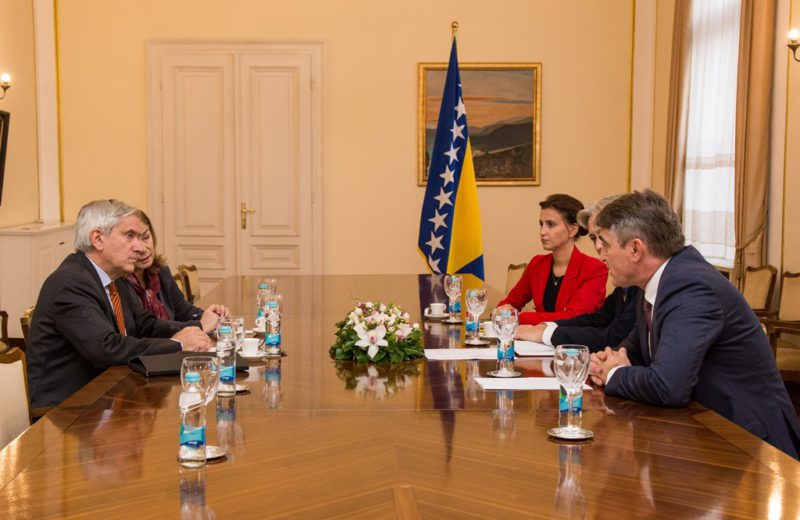 Komšić: France can count on BiH's support in fight against terrorism