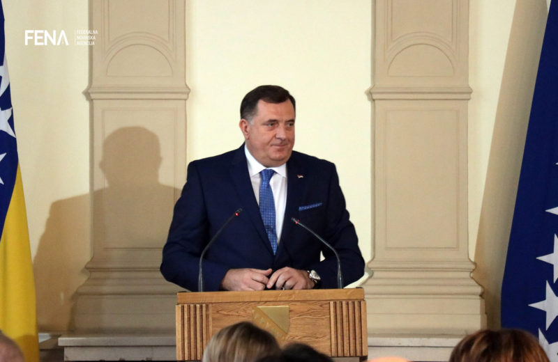 Dodik speaks in RSNA on right of the entity of RS to secede
