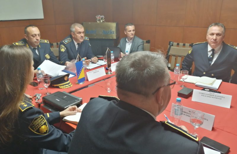 FBiH Police Commissioners: The situation with migrants increasingly serious