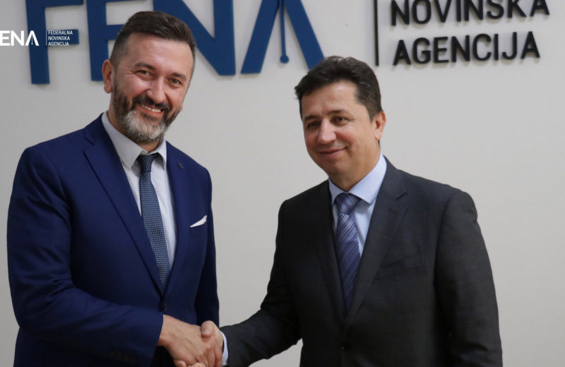 Zaimović: Support for independent, objective journalism that FENA characterizes